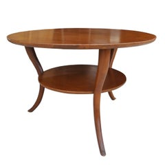T.H. Robsjohn-Gibbings For Widdicomb Klismos Coffee Table