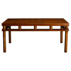 T.H. Robsjohn Gibbings for Widdicomb Model 1761 Coffee Table, 1953, Signed
