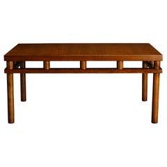 T.H. Robsjohn Gibbings for Widdicomb Model 1761 Coffee Table, 1953, Signed