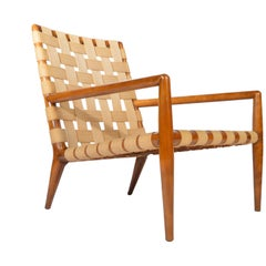 T.H. Robsjohn-Gibbings for Widdicomb Strap Lounge Chair