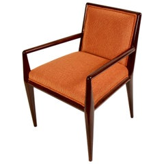 T.H. Robsjohn-Gibbings for Widdicomb Walnut Armchair