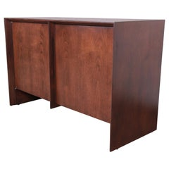 T.H. Robsjohn-Gibbings for Widdicomb Walnut Sideboard Credenza, Newly Restored