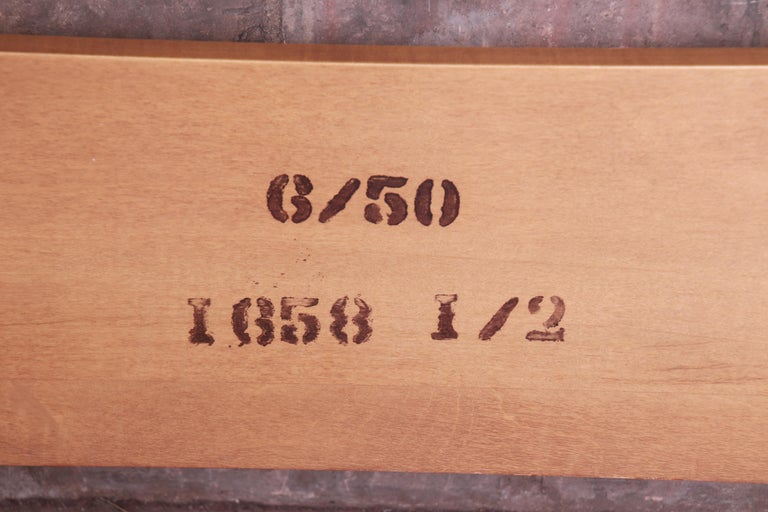 T.H. Robsjohn-Gibbings for Widdicomb Walnut Twin Size Bed, 1950 For Sale 3