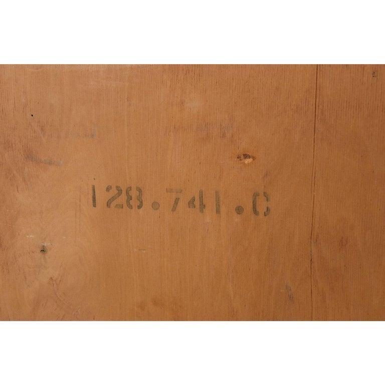 T.H. Robsjohn-Gibbings for Widdicomb Yellow Mahogany Machine Age Dresser For Sale 5