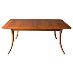 T.H. Robsjohn-Gibbings Klismos Dining Table, Model 4301, ca. 1955