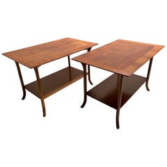 T.H. Robsjohn-Gibbings-Klismos Sabre Leg Side Tables