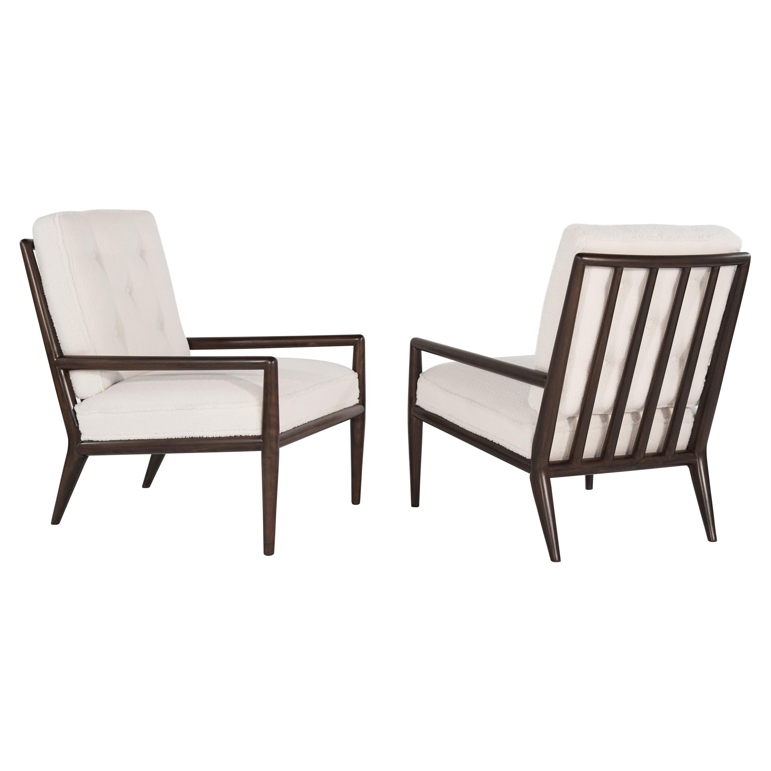 T.H. Robsjohn-Gibbings Lounge Chairs, 1950s