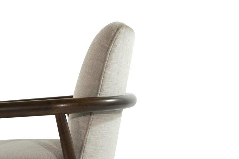 T.H. Robsjohn-Gibbings Lounge Chairs, circa 1950s For Sale 1