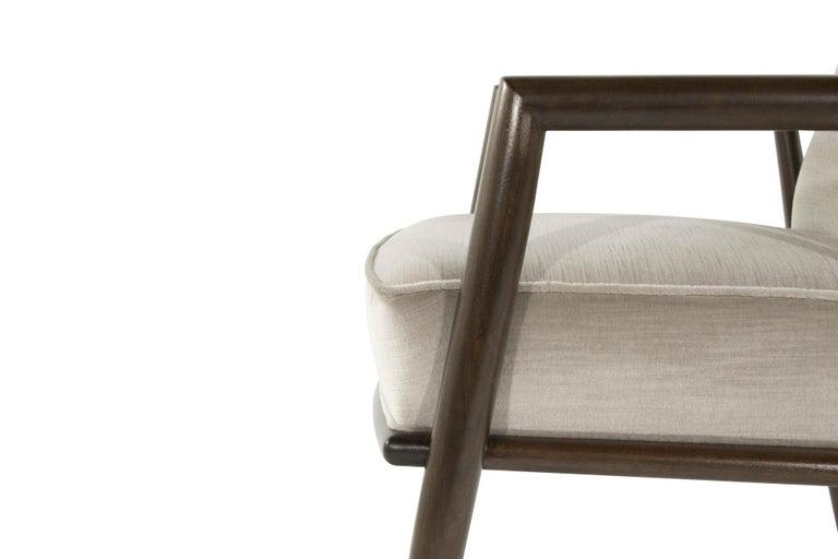 T.H. Robsjohn-Gibbings Lounge Chairs, circa 1950s For Sale 2