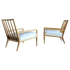 T.H. Robsjohn-Gibbings Lounge Chairs for Widdicomb, circa 1955