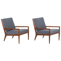 T.H. Robsjohn-Gibbings Lounge Chairs for Widdicomb