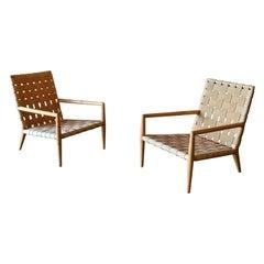 T.H. Robsjohn-Gibbings Lounge Chairs for Widdicomb Model 1720, circa 1955