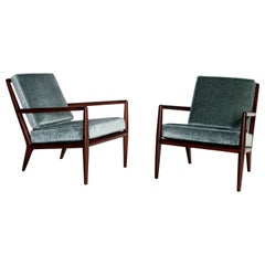 T.H. Robsjohn Gibbings Lounge Chairs, Widdicomb
