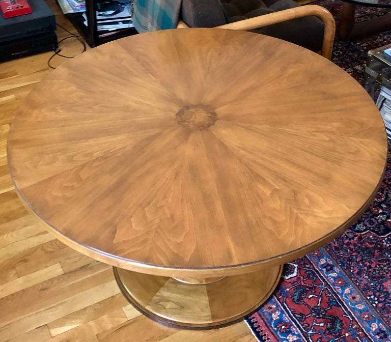 Mid-Century Modern T.H. Robsjohn-Gibbings Occasional or Center Table for Baker For Sale