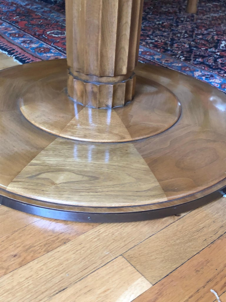 Walnut T.H. Robsjohn-Gibbings Occasional or Center Table for Baker For Sale
