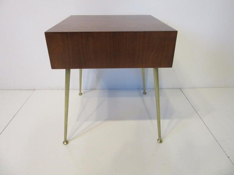 American T.H. Robsjohn-Gibbings Side, End Table / Nightstand for Widdicomb For Sale