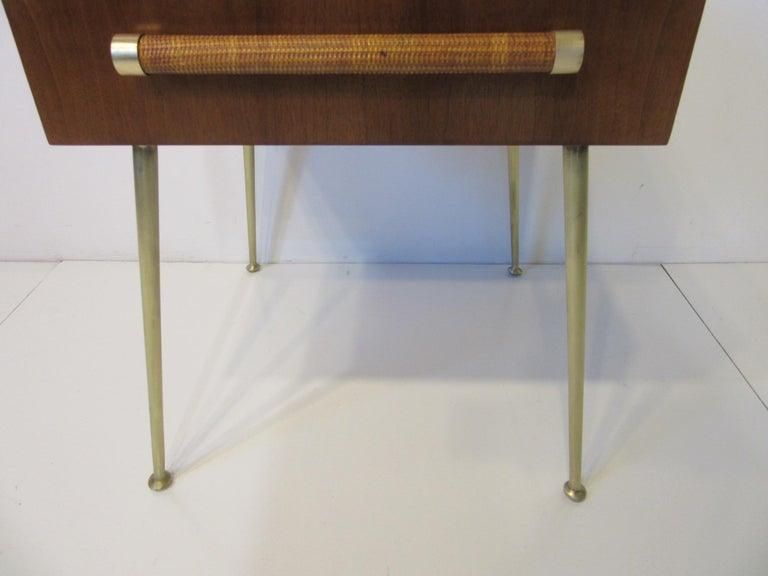 20th Century T.H. Robsjohn-Gibbings Side, End Table / Nightstand for Widdicomb For Sale