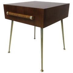 T.H. Robsjohn-Gibbings Side, End Table / Nightstand for Widdicomb