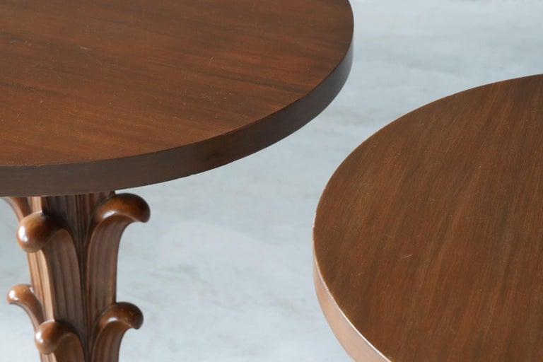 T.H. Robsjohn-Gibbings, Side Tables / End Tables, Walnut, Widdicomb, America For Sale 1