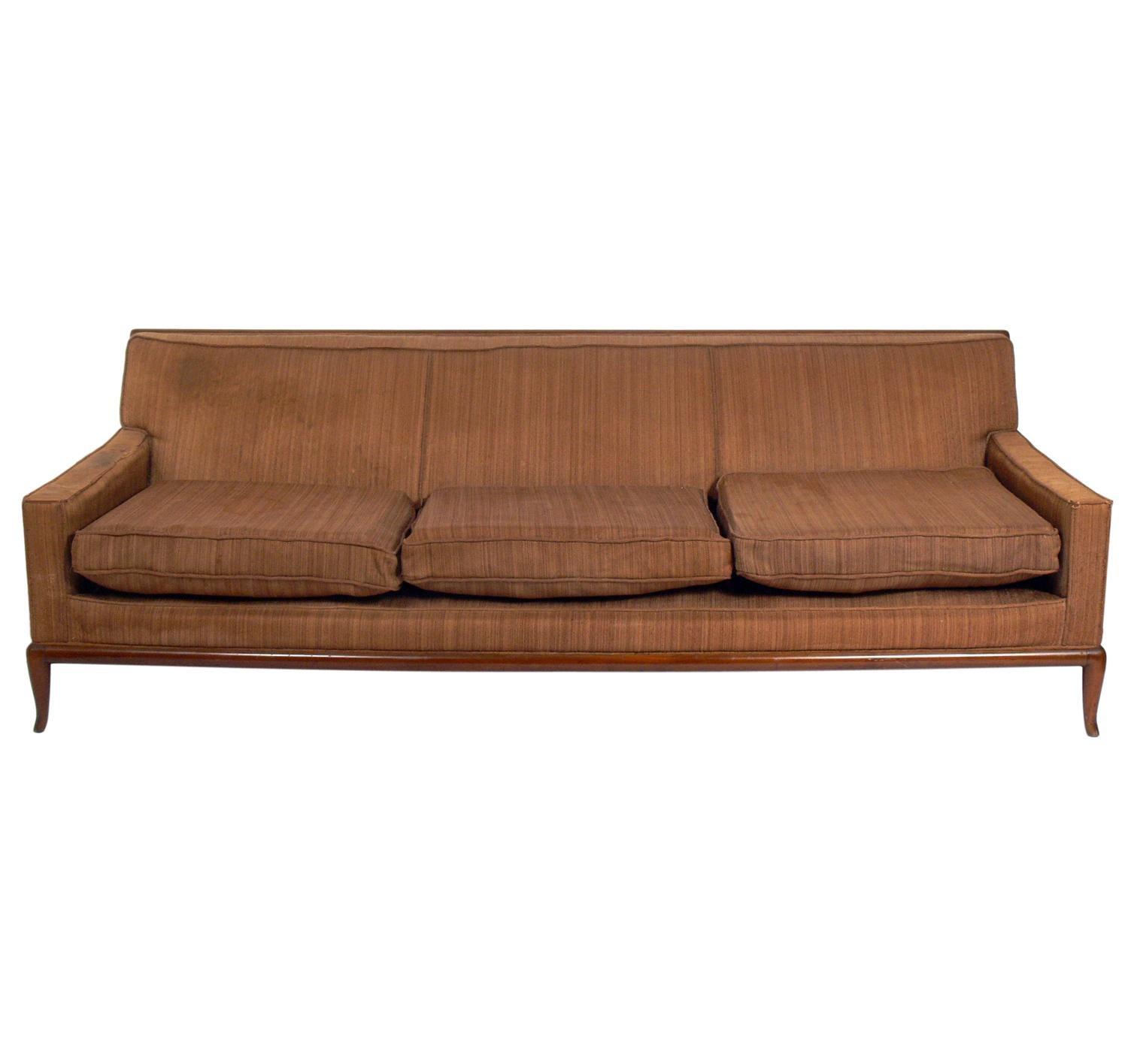 T.H. Robsjohn-Gibbings Sofa