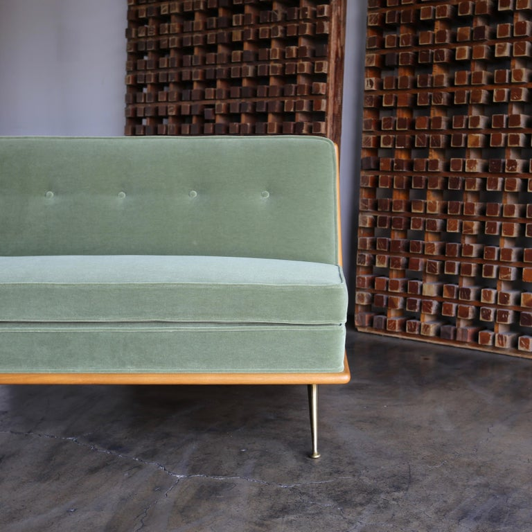 T.H. Robsjohn-Gibbings Sofa, Model 1727 for Widdicomb, circa 1955 For Sale 2