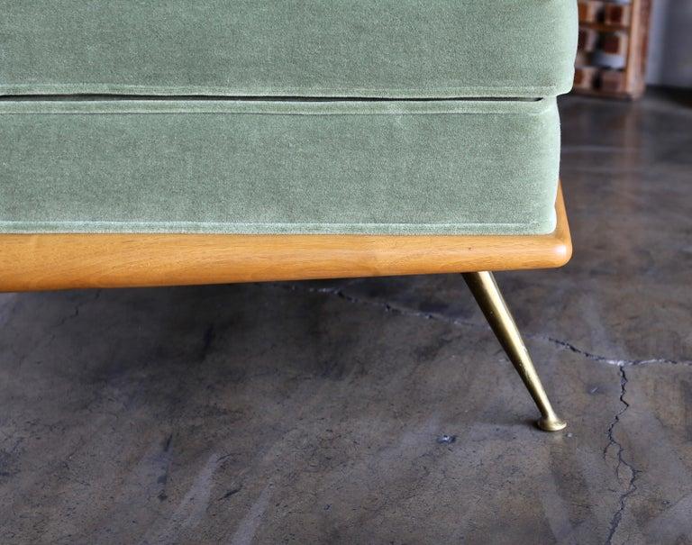 T.H. Robsjohn-Gibbings Sofa, Model 1727 for Widdicomb, circa 1955 For Sale 6