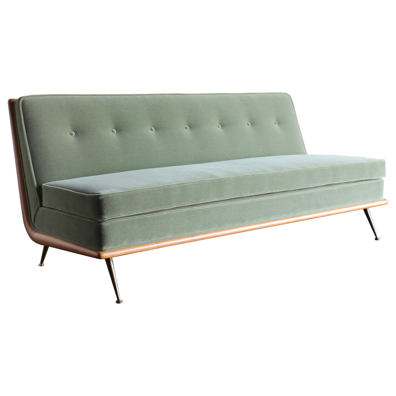 T.H. Robsjohn-Gibbings Sofa, Model 1727 for Widdicomb, circa 1955