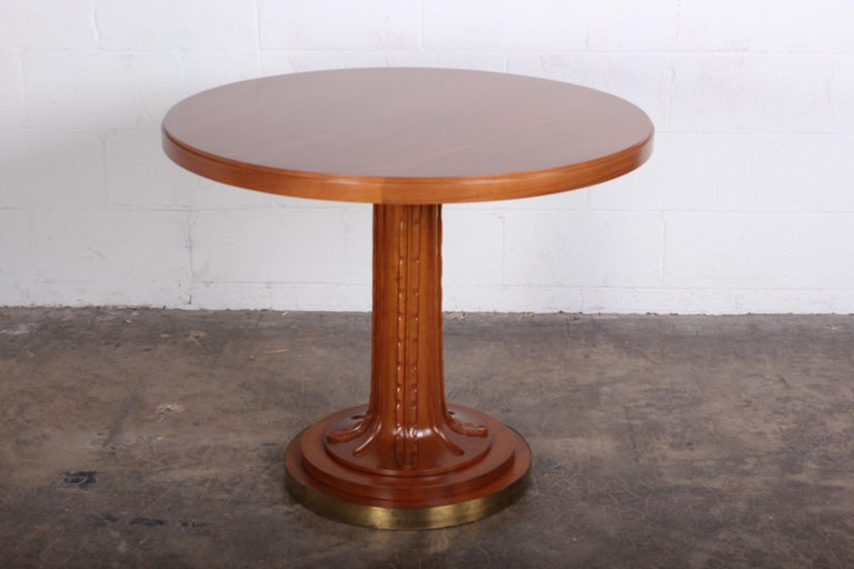 T.H. Robsjohn-Gibbings Table for Saridis of Athens In Good Condition For Sale In Dallas, TX