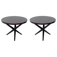 T.H. Robsjohn-Gibbings Tripod End Tables
