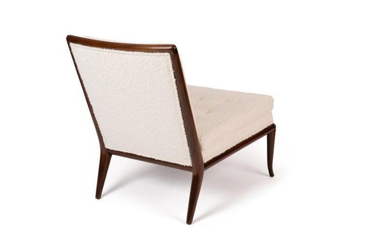 North American T.H. Robsjohn-Gibbings Widdicomb Slipper Chairs For Sale