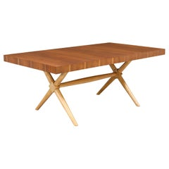 "T.H. Robsjohn-Gibbings ""X"" Base Dining Table for Widdicomb"