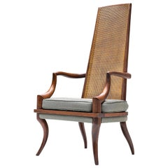 T.H. Robsjohn-Gibbins American High Back Chair