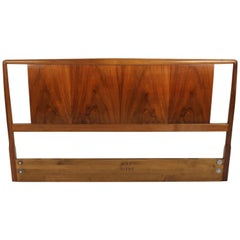 T.H. Robsjohns-Gibbings for Widdicomb Full Size Headboard with Walnut Veneer