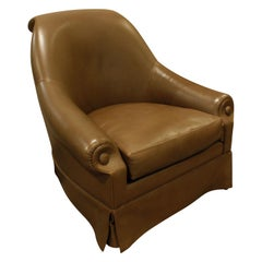 Thad Hayes Custom Barrel Back Lounge Chair, 2000