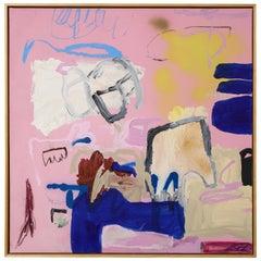 """Thai Mainhard """"Heart to Heart"""" Acrylic on Canvas"""