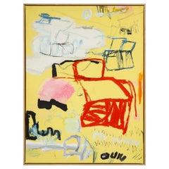 """Thai Mainhard """"My Turn"""" Acrylic on Canvas"""