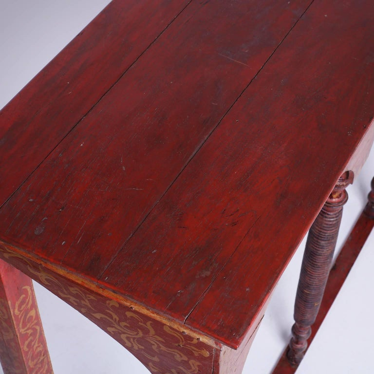 19th Century Thai Painted Altar Table or Console For Sale