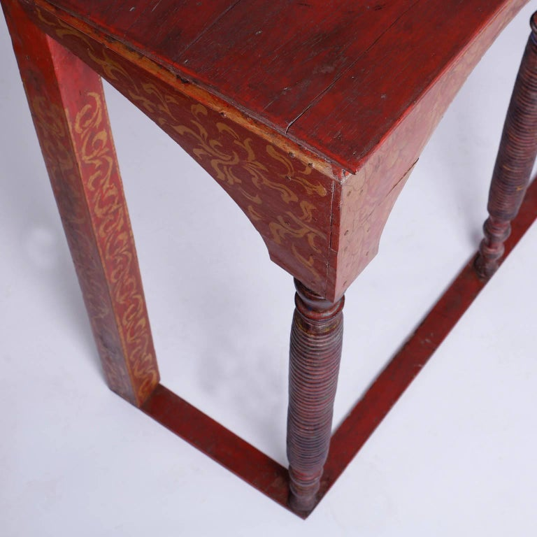 Thai Painted Altar Table or Console For Sale 1
