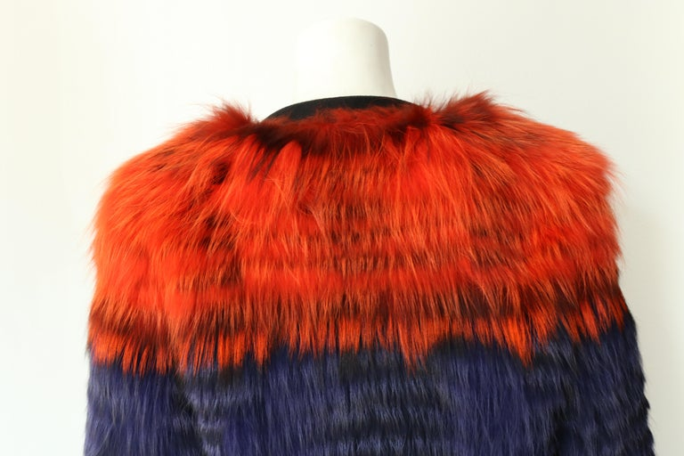 Women's or Men's Thakoon Fox Fur Jacket  For Sale