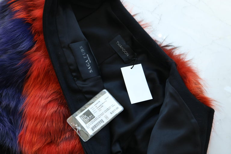 Thakoon Fox Fur Jacket  For Sale 1