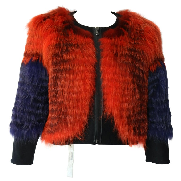 Thakoon Fox Fur Jacket  For Sale