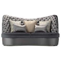 Thalia Gray 3-Seater Sofa
