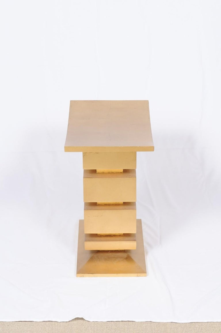 Thassos Stool by Thomas Pheasant for Baker For Sale 6