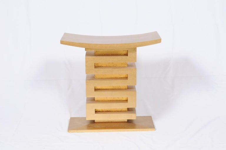 Thassos Stool by Thomas Pheasant for Baker For Sale 8