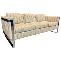 Thayer Coggin Attributed to Milo Baughman 1970s Floating Sofa Smaller Scale 73W