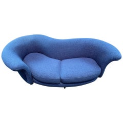 Thayer Coggin Curved Serpentine Sofa