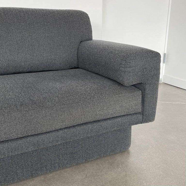 Thayer Coggin Fully Upholstered Modernist Sofas 5