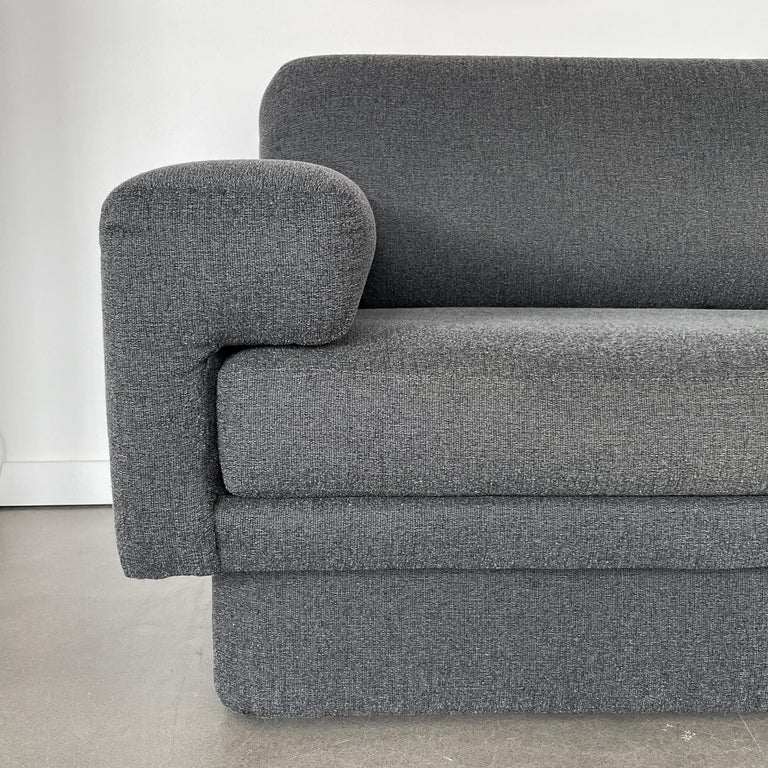 Thayer Coggin Fully Upholstered Modernist Sofas 6
