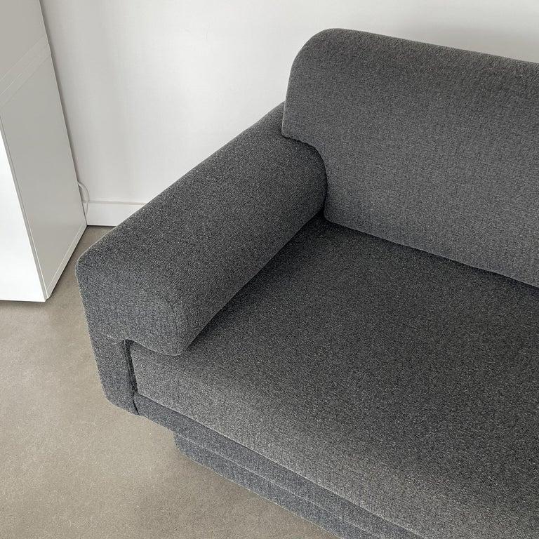 Thayer Coggin Fully Upholstered Modernist Sofas 7