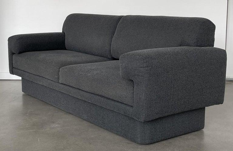 Fabric Thayer Coggin Fully Upholstered Modernist Sofas
